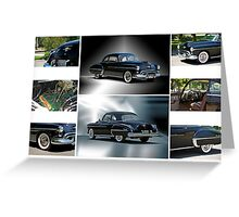 1950 Oldsmobile Rockett 88 Coupe Greeting Card