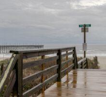 Moody Beach path Sticker