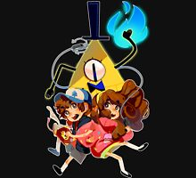 Dipper Mabel and Bill Cipher Unisex T-Shirt