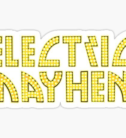 Electric Mayhem Sticker