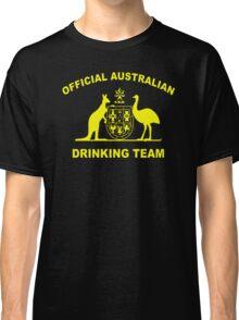 AUSTRALIAN DRINKING TEAM Classic T-Shirt