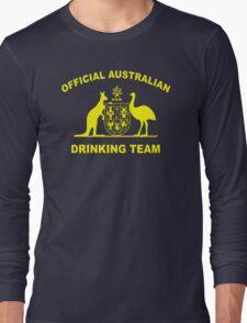 AUSTRALIAN DRINKING TEAM Long Sleeve T-Shirt