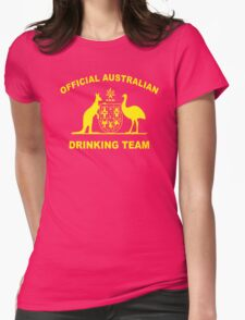 AUSTRALIAN DRINKING TEAM Womens Fitted T-Shirt