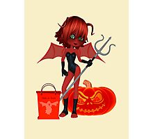 Ready for Halloween  Photographic Print