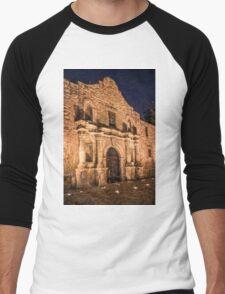 Alamo Door Painterly Men's Baseball ¾ T-Shirt