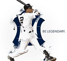 Derek Jeter Be Legendary by SallyDunfee