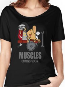 COOL MUSCLES GYM Women's Relaxed Fit T-Shirt