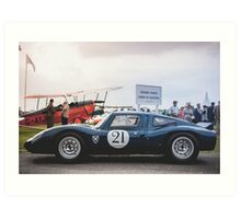 Sir Jackie Stewart's Coupé Art Print