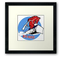 Expeditionary Red Horse Group Framed Print