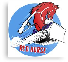 Expeditionary Red Horse Group Metal Print