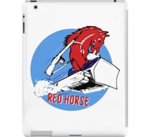 Expeditionary Red Horse Group iPad Case/Skin