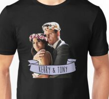 Kerry & Tony - Flower Crown Unisex T-Shirt