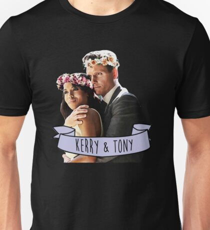 Kerry & Tony - Flower Crown Unisex T-Shirt