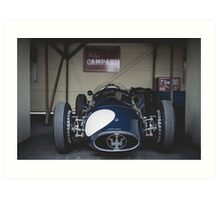 Maserati 250-F Art Print