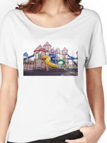 Kids Play Ground Women's Relaxed Fit T-Shirt