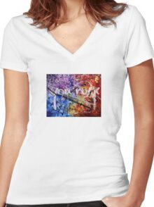 You Rock Women's Fitted V-Neck T-Shirt