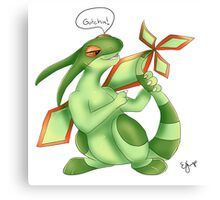 Flygon Tail Chase Canvas Print