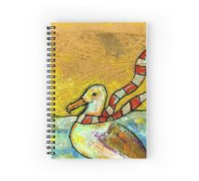 Holiday Seagull Spiral Notebook