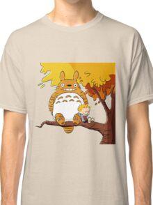 Parody Totoro, Calvin And The Hobbes Classic T-Shirt