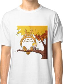 Parody Totoro, Calvin And The Hobbes Classic T-Shirt