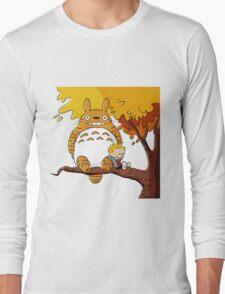 Parody Totoro, Calvin And The Hobbes T-Shirt
