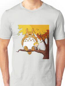 Parody Totoro, Calvin And The Hobbes Unisex T-Shirt