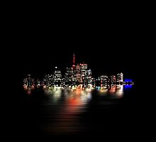 Toronto Flood No 3 My Island by Brian Carson