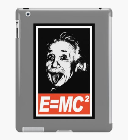 Einstein Obey  iPad Case/Skin