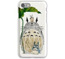 Totoro and family iPhone Case/Skin