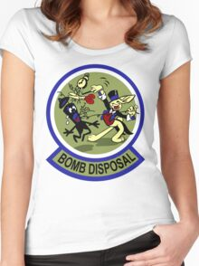 WWII Bomb Disposal Women's Fitted Scoop T-Shirt