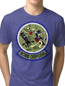 WWII Bomb Disposal Tri-blend T-Shirt