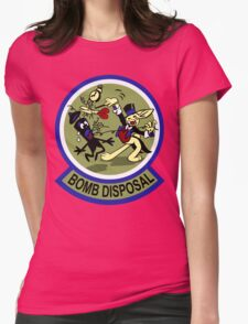 WWII Bomb Disposal Womens Fitted T-Shirt