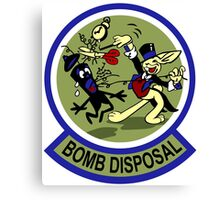 WWII Bomb Disposal Canvas Print