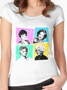 Golden Girls POP! Women's Fitted Scoop T-Shirt