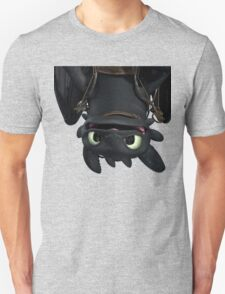 Upside Down Toothless Unisex T-Shirt