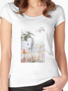 Dream Garden 2 Women's Fitted Scoop T-Shirt