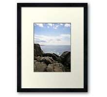 Peggy's cove, Nova Scotia, Canada Framed Print