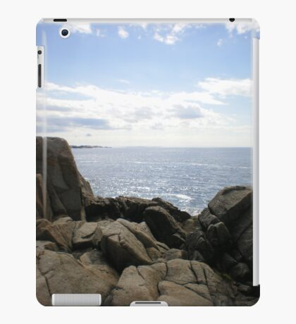 Peggy's cove, Nova Scotia, Canada iPad Case/Skin