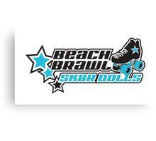 BEACH BRAWL SK8R DOLLS Canvas Print