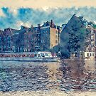 Amsterdam Canal by Moonlake
