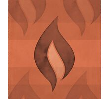Ray Bradbury - Fahrenheit 451 by RedHillPrints