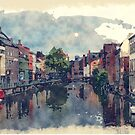 Ghent Belgium by Moonlake