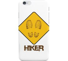 Hiker - Yield iPhone Case/Skin