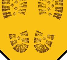 Hiker - Yield Sticker
