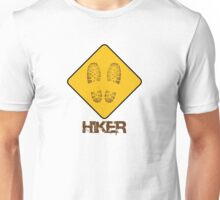 Hiker - Yield Unisex T-Shirt