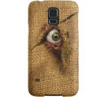 Bloody Burlap Eye Samsung Galaxy Case/Skin