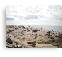 Peggy's cove, Nova Scotia, Canada Canvas Print