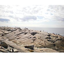 Peggy's cove, Nova Scotia, Canada Photographic Print