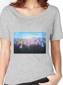 Tulips at Sunrise Women's Relaxed Fit T-Shirt