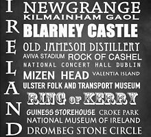 Ireland Famous Landmarks by Patricia Lintner